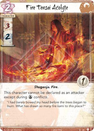 Fire Tensai Acolyte