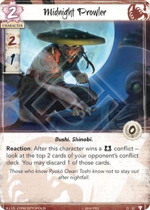Midnight Prowler • Card • FiveRingsDB