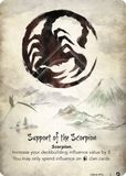 Support of the Scorpion