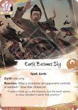 Earth Becomes Sky