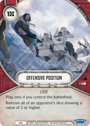 Defensive Position