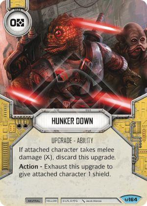 Hunker Down Awakenings Star Wars Destiny Star Wars