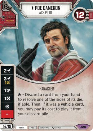Poe Dameron Awakenings Star Wars Destiny Star Wars