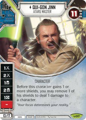 Star Wars Destiny Awakenings Card #149 -NM- From Starter Use the Force