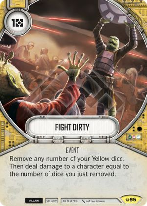 Fight Dirty Awakenings Star Wars Destiny Star Wars