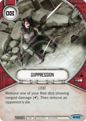 Suppression Spirit Of Rebellion Star Wars Destiny