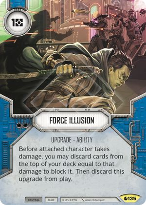 Force Illusion Spirit Of Rebellion Star Wars Destiny
