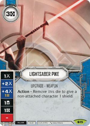 Lightsaber Pike Spirit Of Rebellion Star Wars Destiny