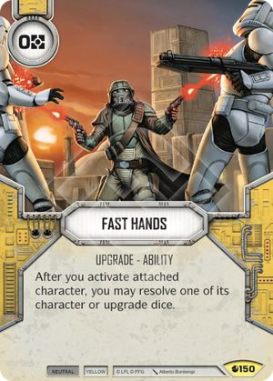 Fast Hands Spirit Of Rebellion Star Wars Destiny
