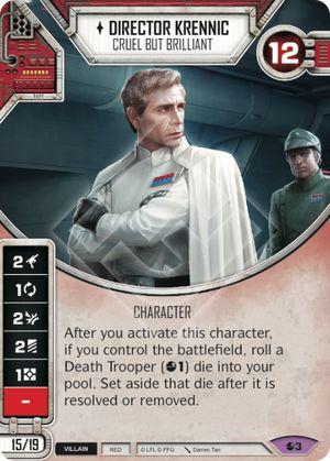Star Wars Destiny Spirit of the Rebellion Uncommon 2x Bombing Run