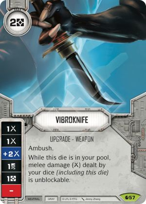 Vibroknife Spirit Of Rebellion Star Wars Destiny