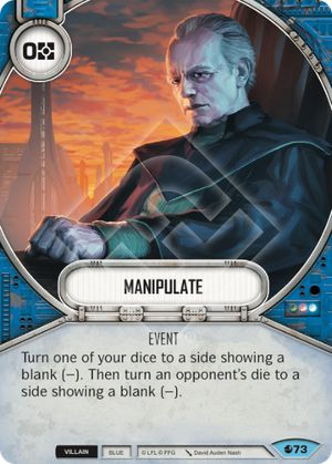 Manipulate Spirit Of Rebellion Star Wars Destiny