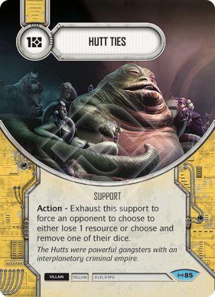 Hutt Ties Empire At War Star Wars Destiny Star Wars
