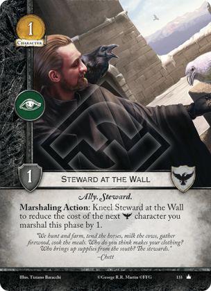 Steward at the Wall