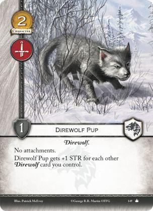 Direwolf Pup