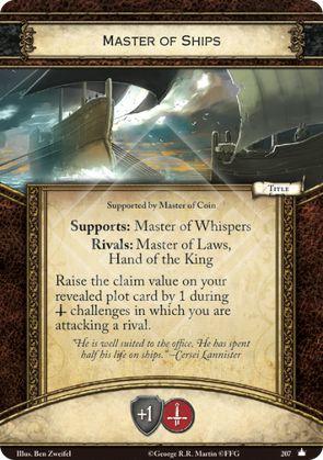 Master of Ships