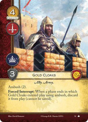 Gold Cloaks