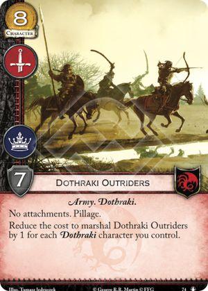 Dothraki Outriders