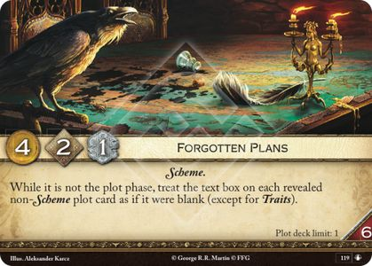 Forgotten Plans