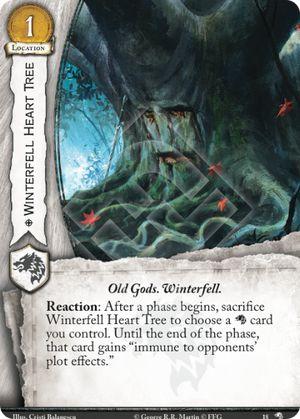 Winterfell Heart Tree