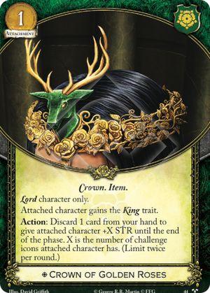 Crown of Golden Roses