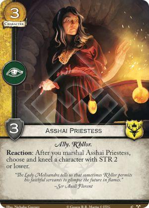 Asshai Priestess