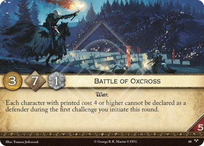Battle of Oxcross