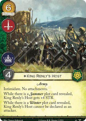 King Renly's Host