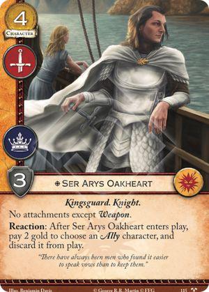 Ser Arys Oakheart