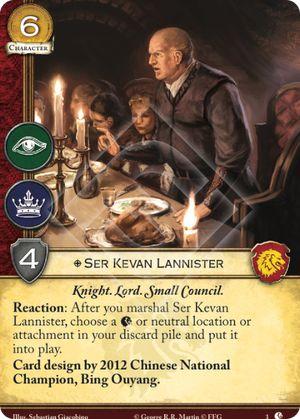 Ser Kevan Lannister