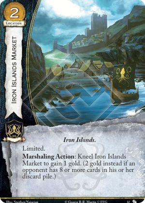 Iron Islands Market