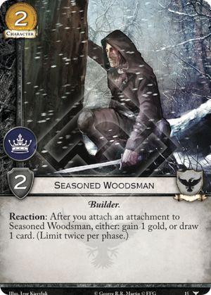 Seasoned Woodsman