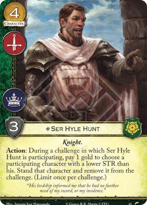 Ser Hyle Hunt