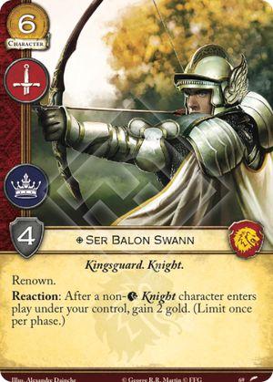 Ser Balon Swann