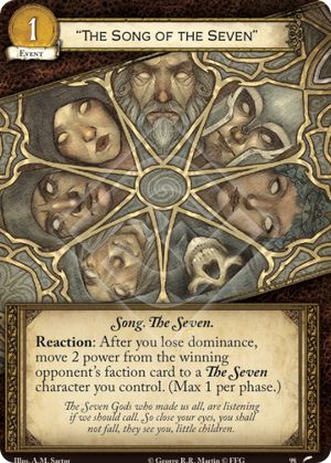 """""""The Song of the Seven"""""""
