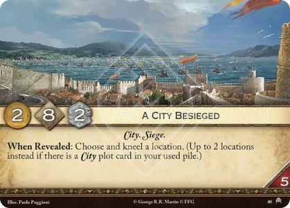 A City Besieged
