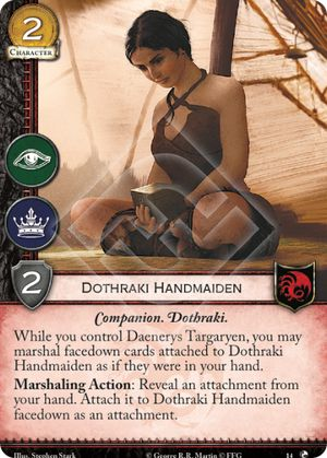 Dothraki Handmaiden