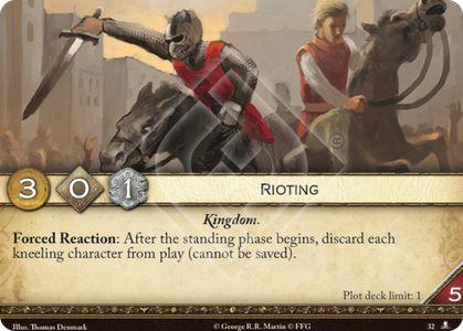 Rioting