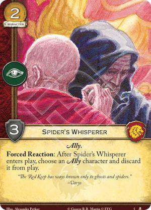 Spider's Whisperer